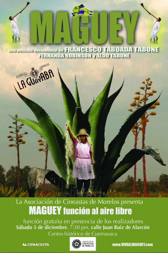 El largometraje documental Maguey se presenta en La Pulquería La Guayaba en el centro histórico de Cuernavaca
