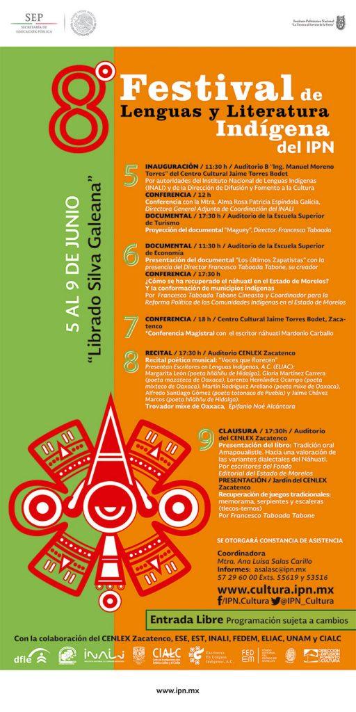 Se proyectan los filmes Los Últimos Zapatistas y Maguey de Francesco Taboada en el Francesco Taboada dictará conferencia sobre la revitalización de la lengua náhuatl en el Festival de Lengua y Literatura Indígena